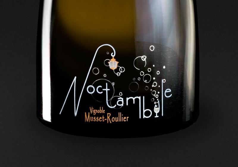 étiquette de vin – Crémant de Loire
