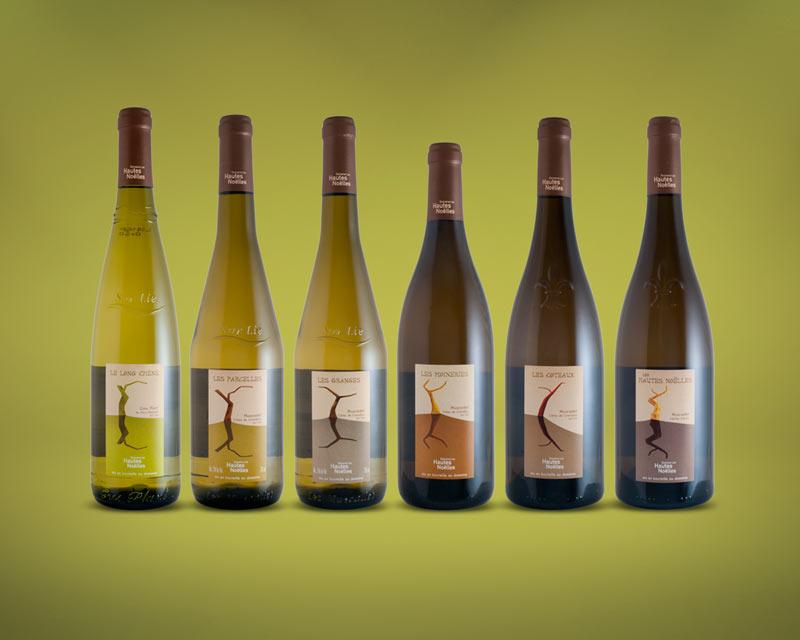 étiquettes de vin – Muscadet