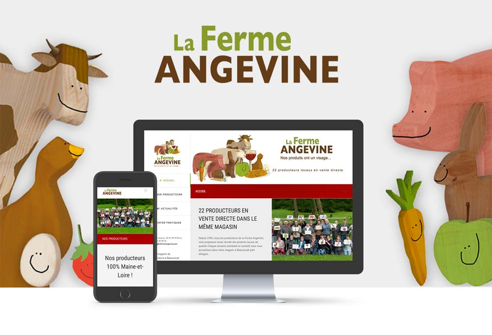 site internet Magasin de producteurs