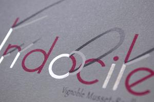 Étiquette de Rosé Pétillant